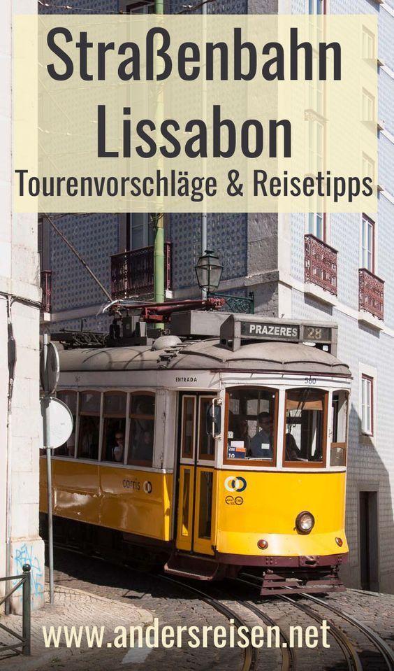Straßenbahn Lissabon: Sehenswürdigkeiten, Tipps