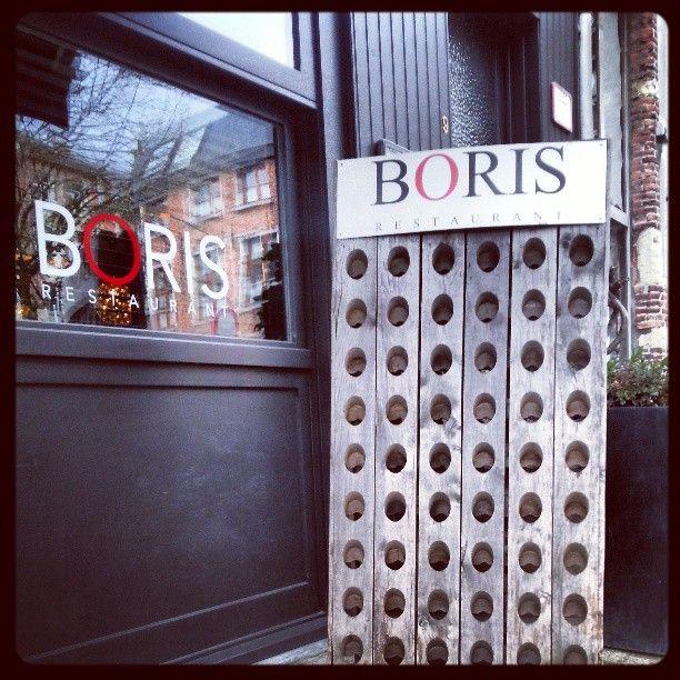 Boris restaurant in Antwerpen, love it