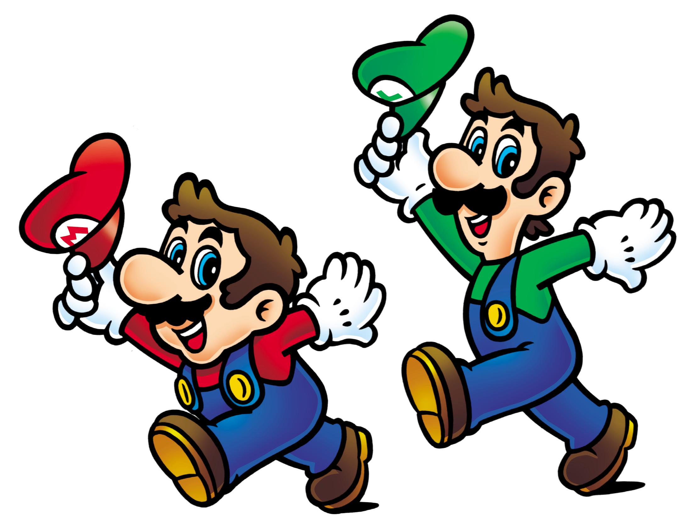Mario And Luigi Super Mario Bros 2 Png 2216 1684 Mario And Luigi Super Mario Mario Bros