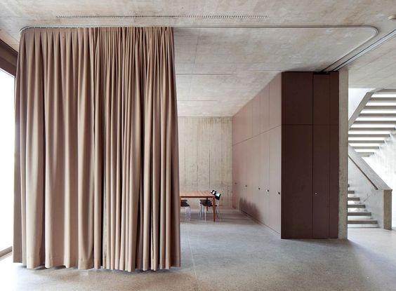 Gordijn Als Scheidingswand : Gordijn als scheidingswand schlafzimmer pinterest interior