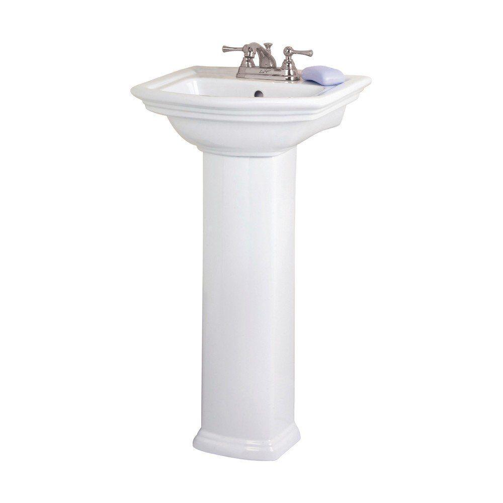 Barclay Washington 460 Pedestal Lavatory Sink Sink Bathroom