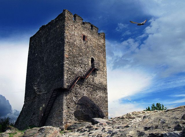 Vrsac Tower (Serbia), Place of Medieval Legends by Uros Petrovic
