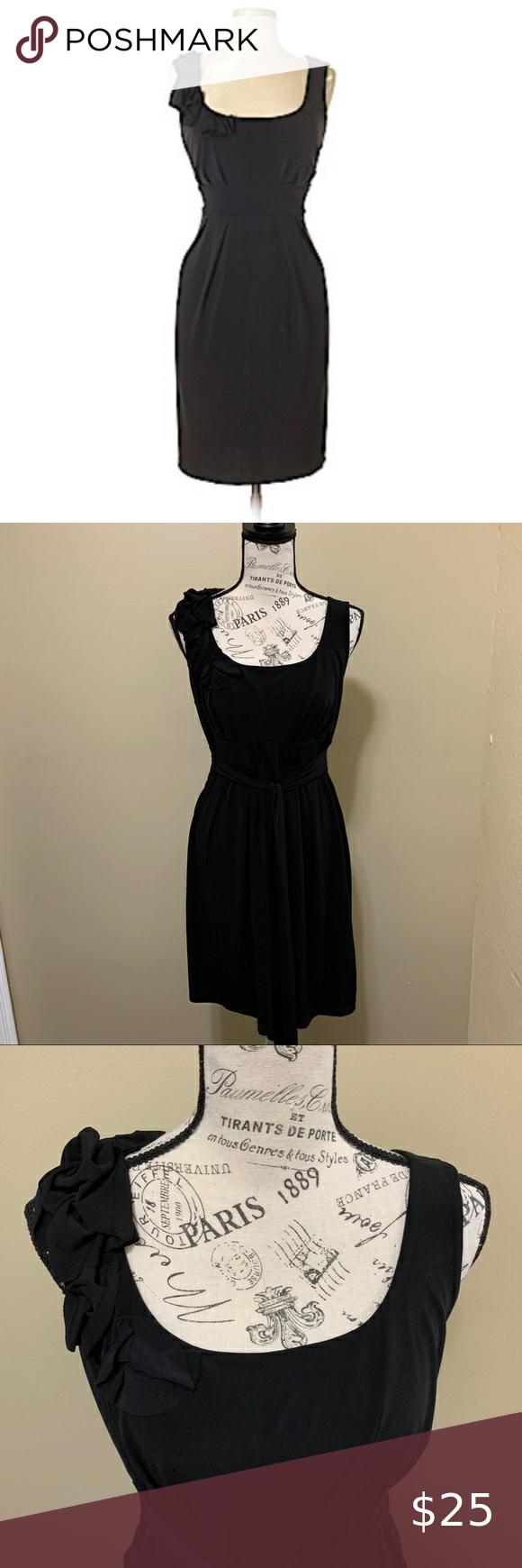 Iz Byer Black Sleeveless Dress Xl Black Sleeveless Dress Dresses Scoop Neck Dress [ 1740 x 580 Pixel ]