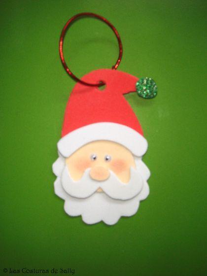 bota papa noel goma eva - Buscar con Google | Navidad | Pinterest ...