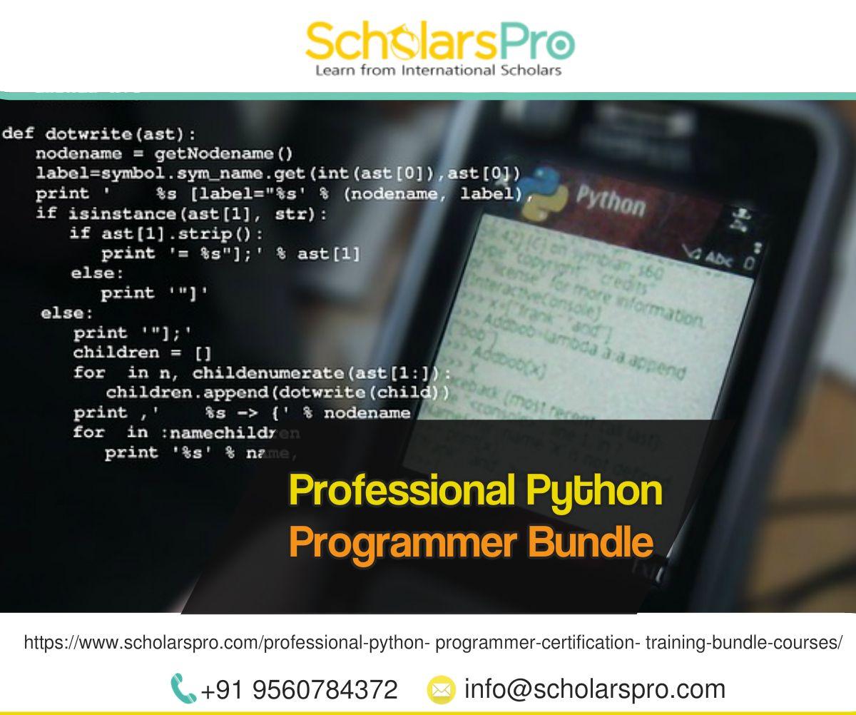 Python training certification bundle courses at scholarspro begin python training certification bundle courses at scholarspro begin from scratch with the basics of python django 1betcityfo Choice Image