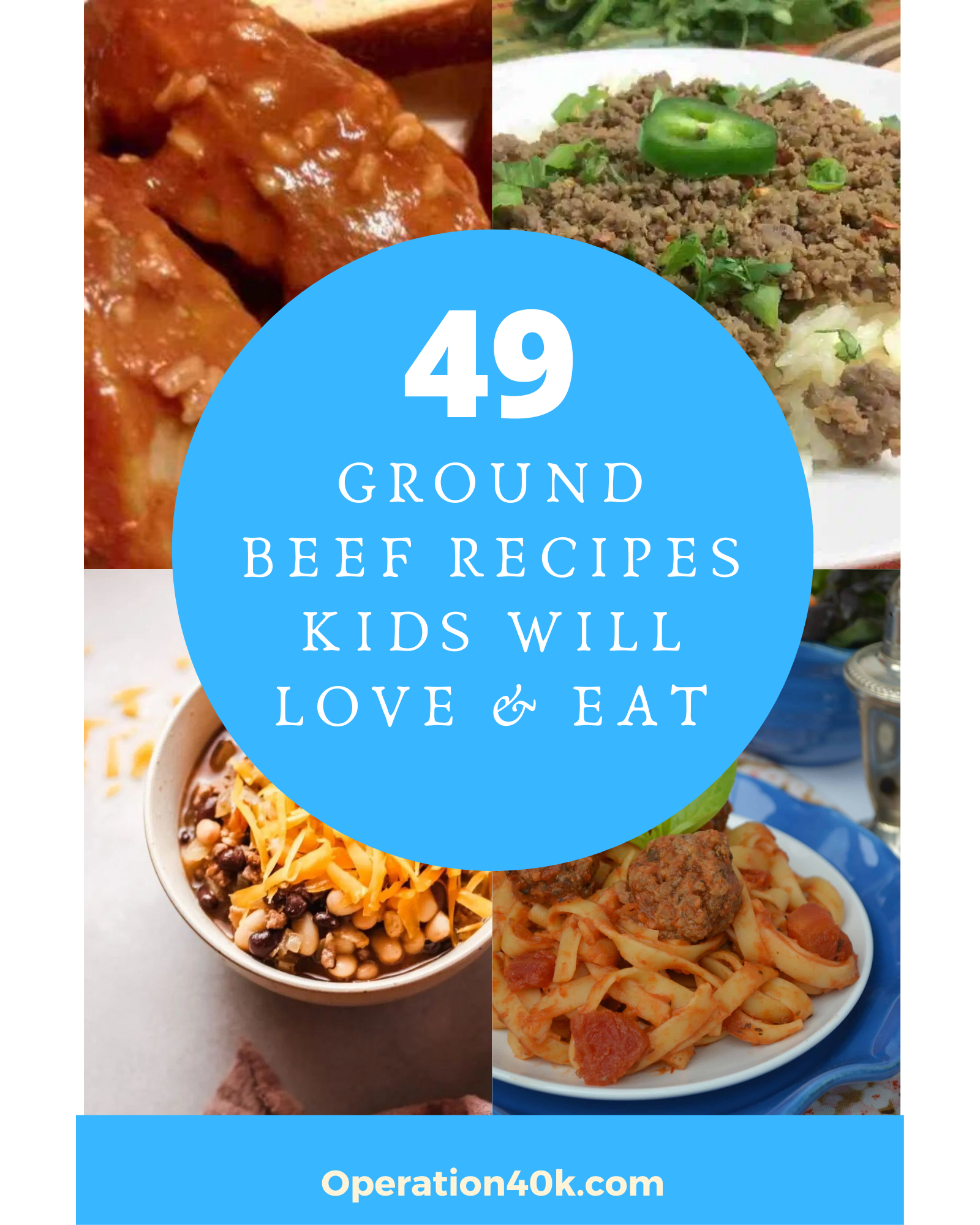 49 Ground Beef Recipes For Kids That They Will Love To Eat Ground Beef Recipes Ground Beef Recipe Kids Beef Recipes