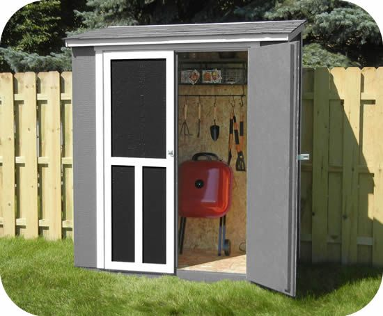 Handy Home Avondale 10x8 Wood Storage Shed Kit W Floor 18242 6 Wood Storage Sheds Garden Storage Shed Wood Shed