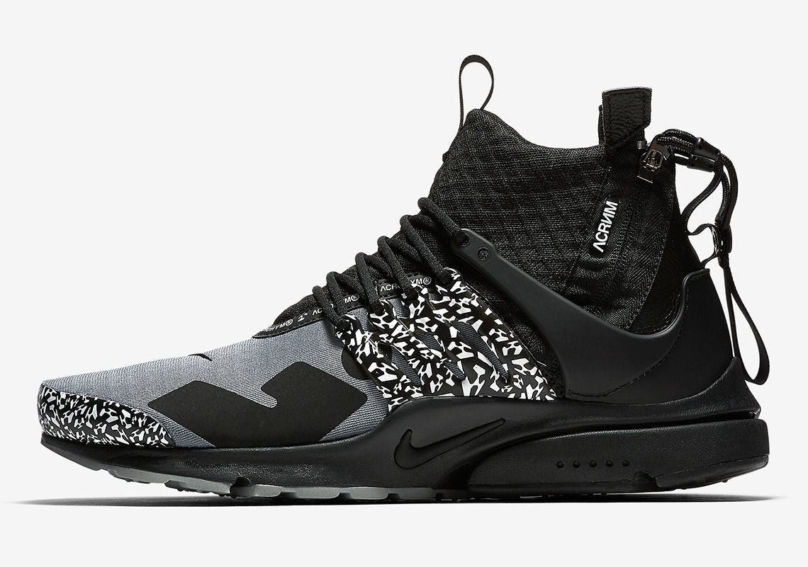Acronym x Nike Presto Mid 2018 Collaboration | Nike air