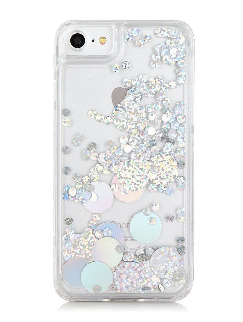 buy popular df576 27768 Holo Circle Jelly Glitter Case in 2019 | Glittercases | Pretty ...