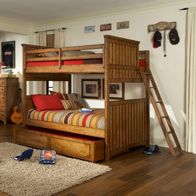 Have to have it. Timber Lodge Full over Full Bunk Bed