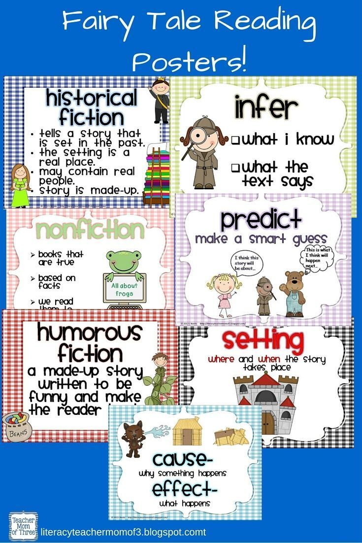 Reading genre and reading comprehension posters ccss robcynllc Image collections