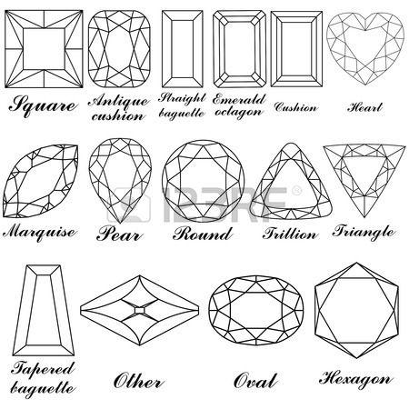 Diamonds Pattern Abstract Art Illustration Jewel Drawing Diamond Drawing Jewelry Design Drawing