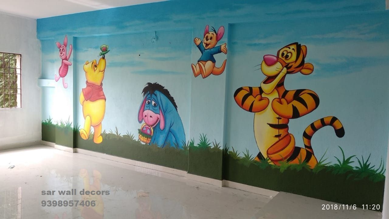 Nursery School Wall Painting 3d Wall Painting Wall Paint