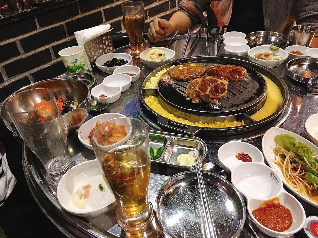 #상해#고깃집#上海#shanghai#koreanfood#bbq#foody#yammy#먹스타그램#맛스타그램#꼬들꼬들 신메뉴 개 맛도리  by __gaeuni__