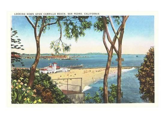 Cabrillo Beach, San Pedro, California Poster