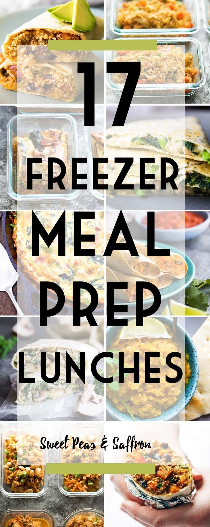 34 Freezer-Friendly Meal Prep Recipes