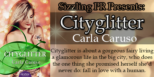 Laurie's Non-paranormal Thoughts and Reviews: Cityglitter by Carla Caruso: Character Interview, Excerpt:Sizzling PR Tour Stop