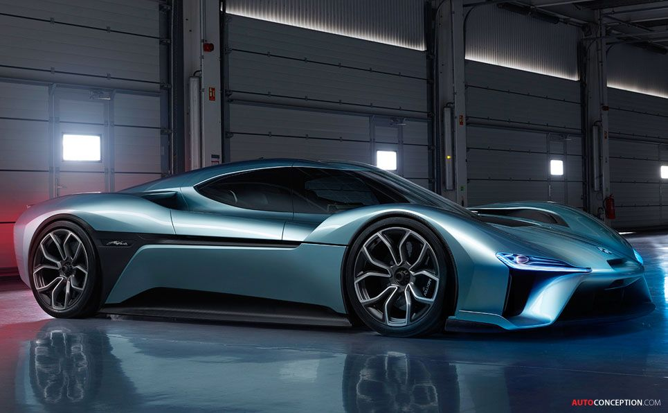 Nextev Unveils Nio Ep9 Supercar World S Fastest Electric Car Autoconception Com Super Cars Future Car Electric Cars