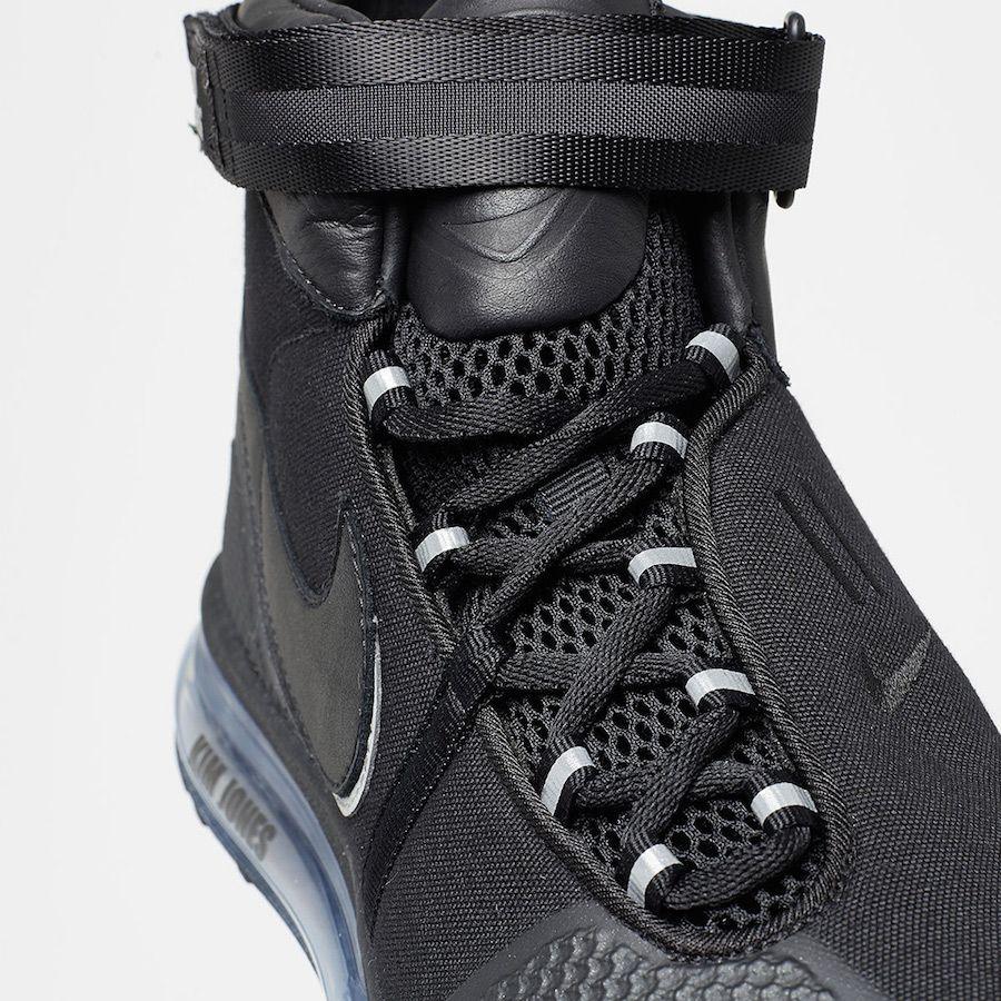 huge selection of 9265e 72385 Kim Jones Nike Air Max 360 HI KJ Black A02313-001