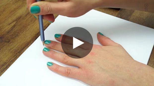 Con este vídeo aprenderemos a dibujar una mano en tres dimensiones