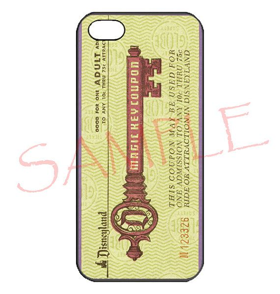 Disney magical key coupon iphone 4/4s/5c/5s Samsung by Blessreiter, $14.77