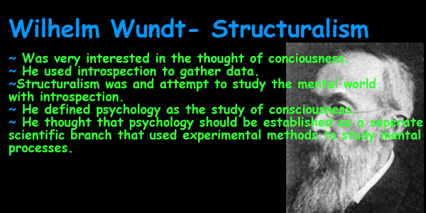 simple definition of structuralism in psychology