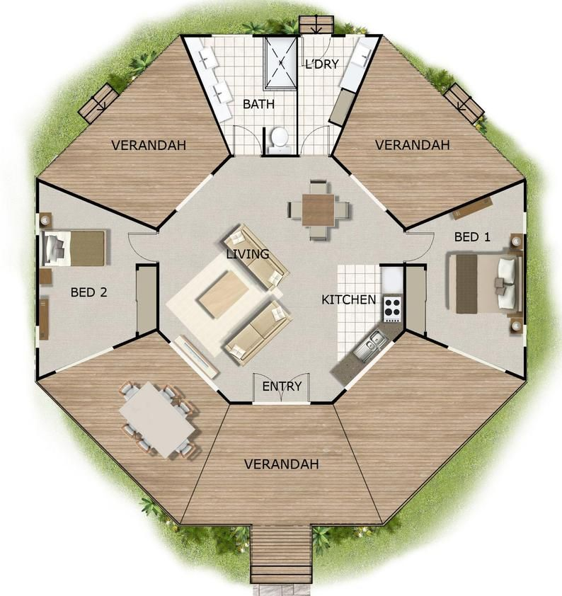 House Design Book Small And Tiny Australian And International Home Plans House Plans House Plans Australia Small House Plans Tiny Plans Tiny House Floor Plans Tiny House Layout Octagon House