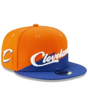 new products 82806 cd55d New Era Boys  Cleveland Cavaliers City Series 2.0 9FIFTY Snapback Cap -  Navy Navy Youth
