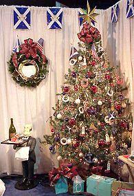 Scottish Christmas tree | CHRISTMASSSSSSS! | Pinterest | Christmas ...