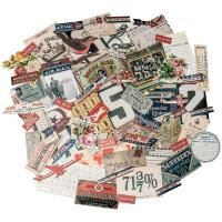 Tim Holtz - Advantus Idea-Ology Ephemera 70/Pkg - Emporium, Up To