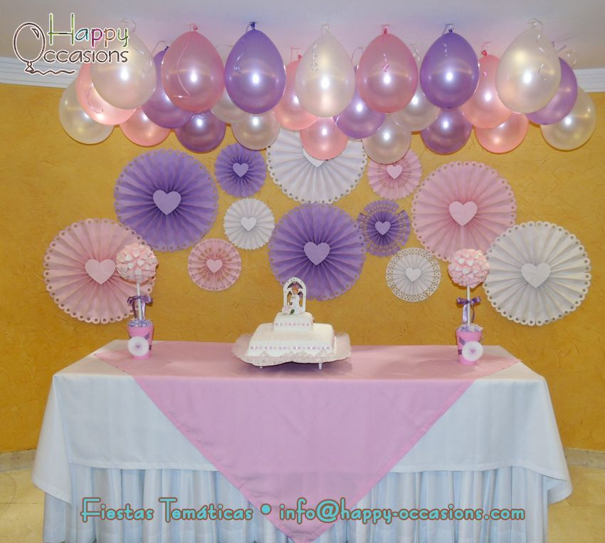 Pin de happy occasions fiestas en bautizos y primeras for Decoraciones para bautizos bautizo decoracion