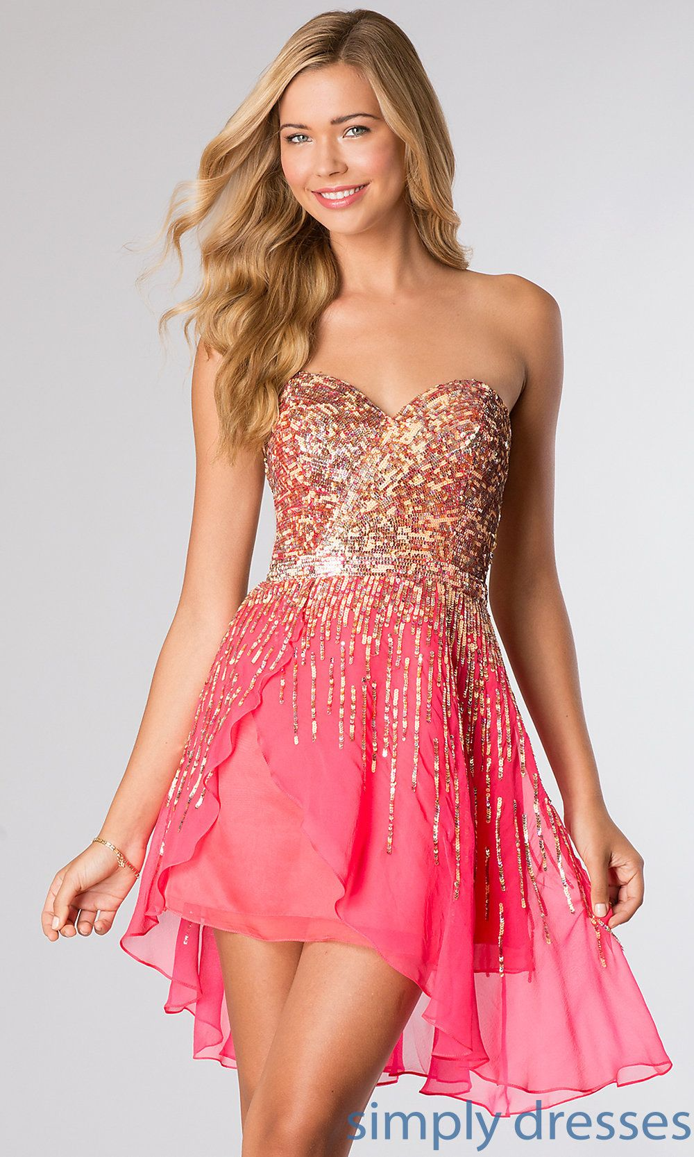 21c039878f Look your best at the Planning your big night out is easy with prom dresses  for short girls