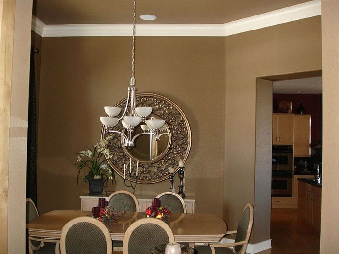 interior paint ideas brown color