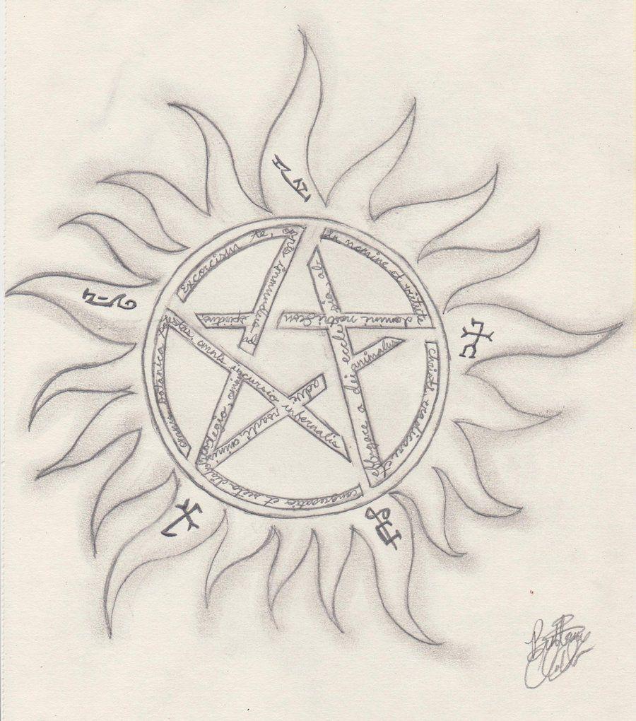 supernatural winchester symbols tattoo Google Search