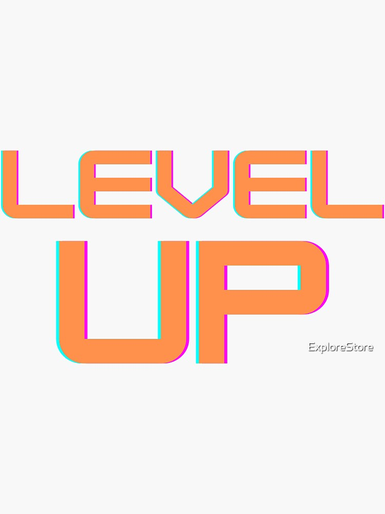 Level Up Sticker By Explorestore Level Up Ghost Of Tsushima Stickers