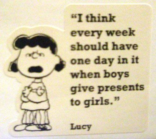 well said Lucy