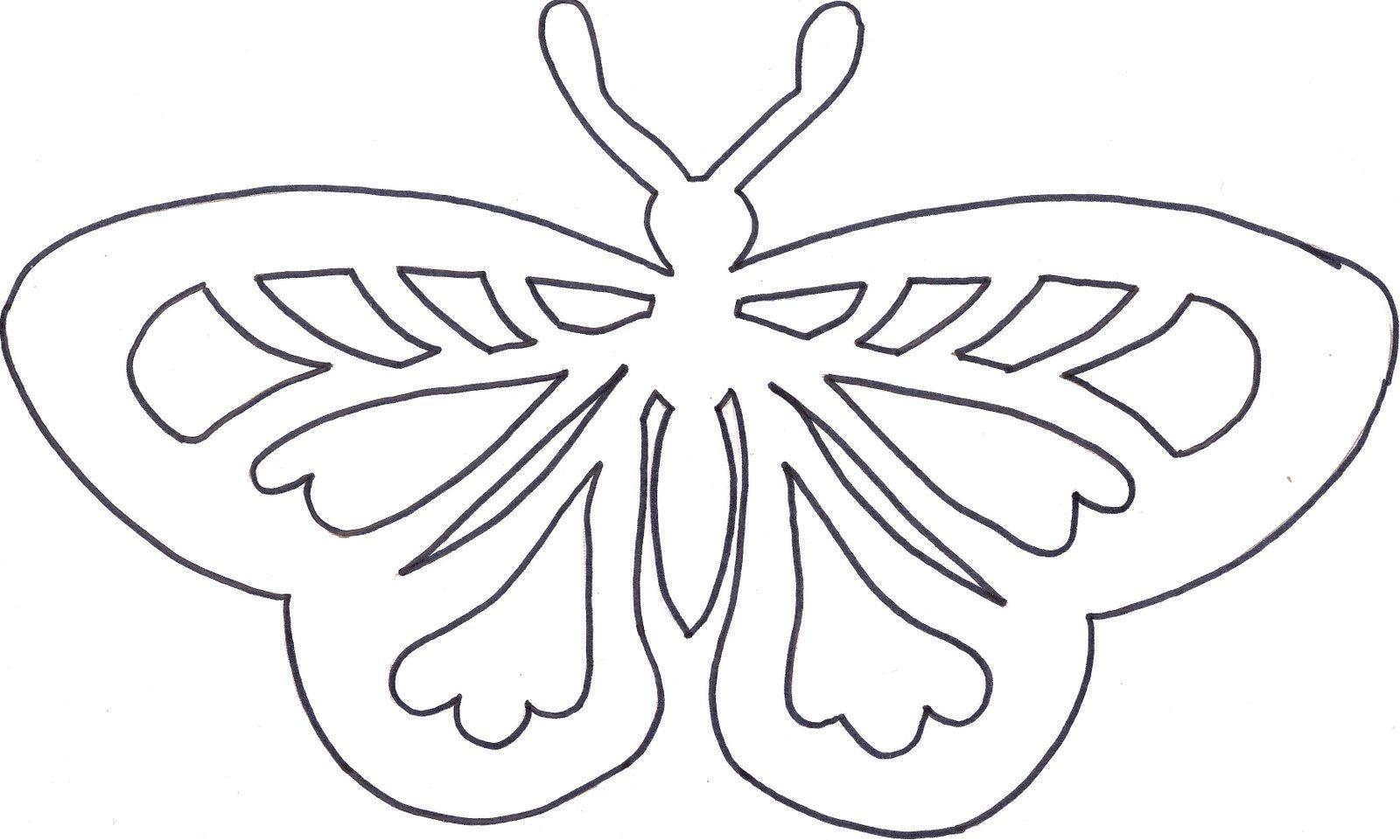 Schmetterling Scherenschnitt Laternen Basteln Kirigami