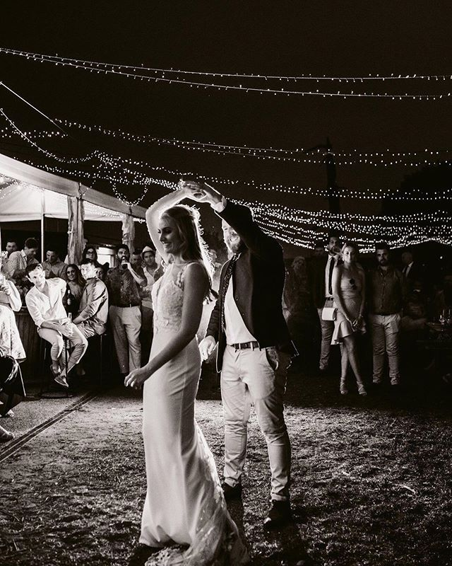Dancing Underneath The Stars And Fairy Lights