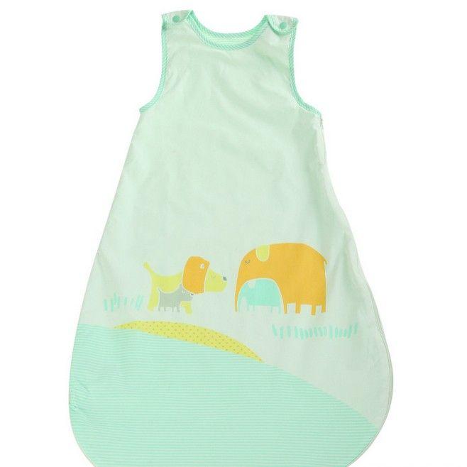 ebd47ecc7 Baby Sleeping Bag New Cute Animal Printing Vest Anti-kick Bag ...