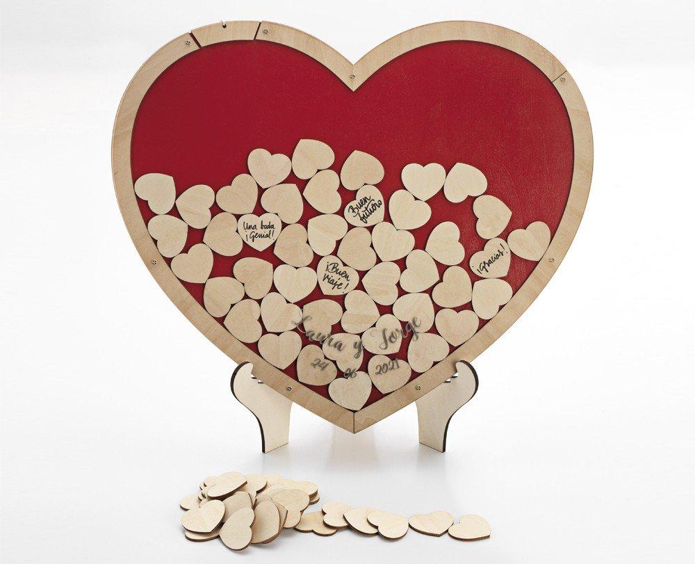 Corazón De Deseos Corazones De Madera De Madera Arte En Madera