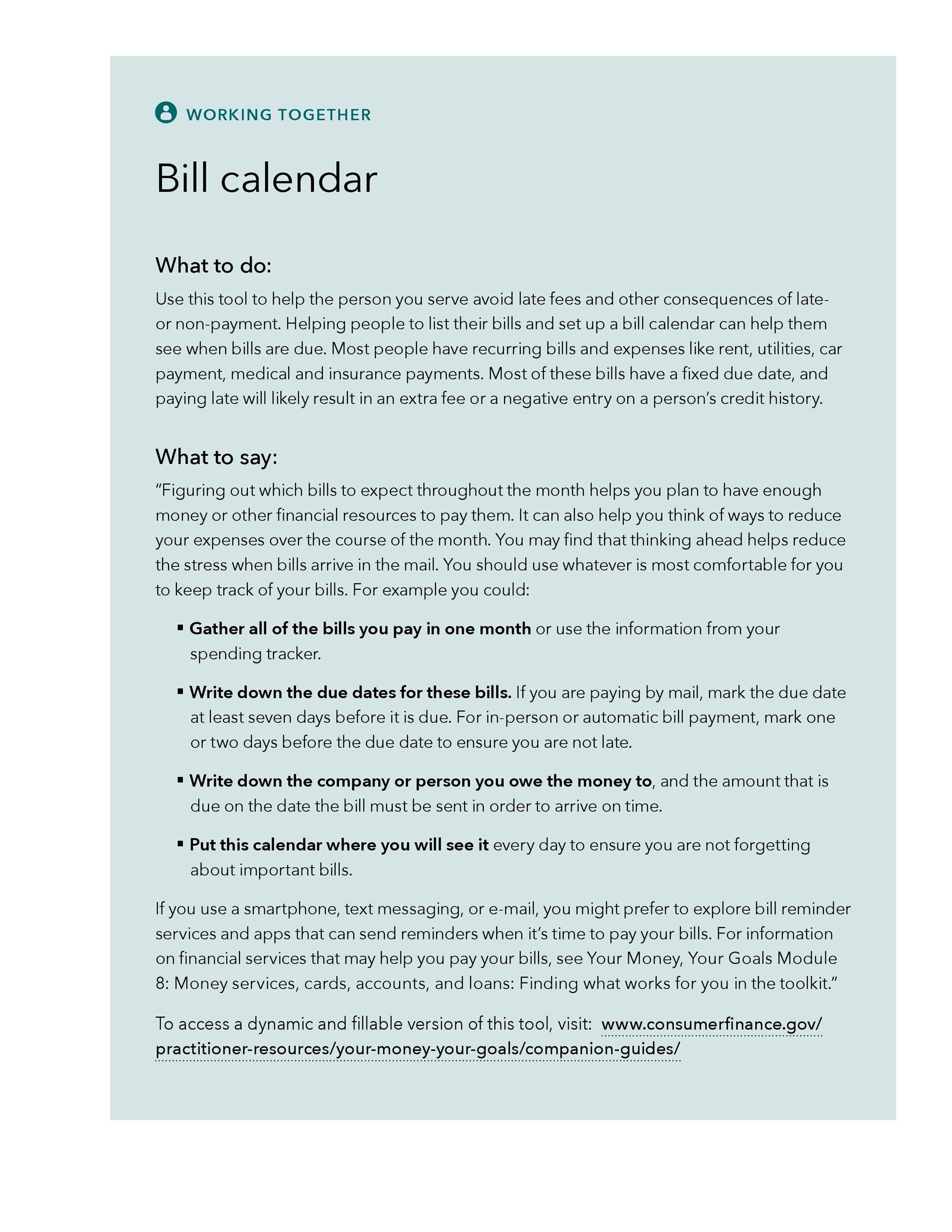 33 Free Bill Pay Checklists Bill Calendars Pdf Word Excel In 2021 Bill Pay Checklist Paying Bills Bill Calendar