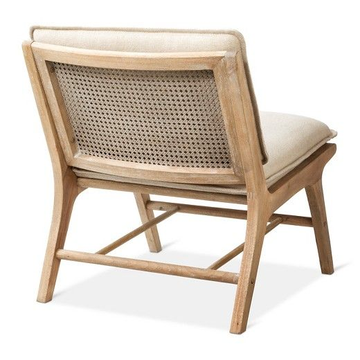 lincoln cane chair with upholstered seat natural threshold target