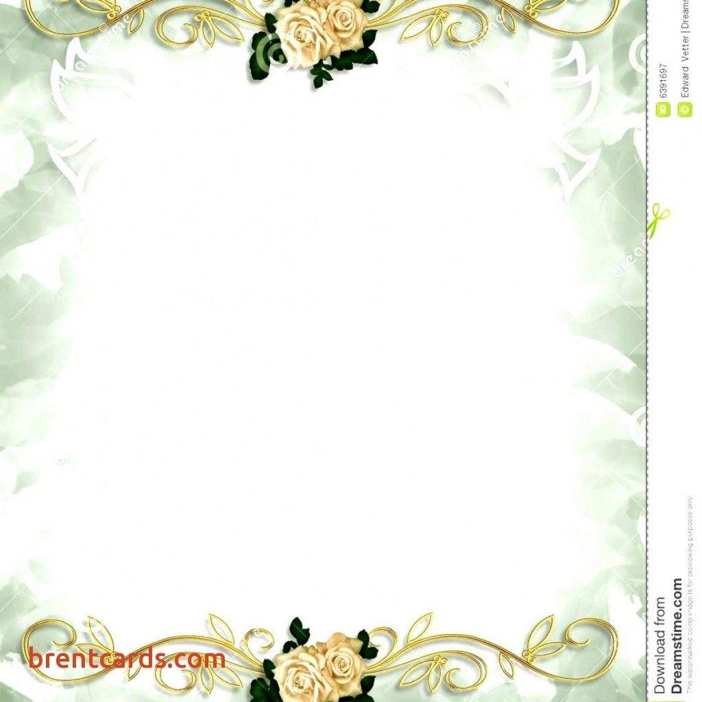 Blank Wedding Invitations Cards Addicfashion