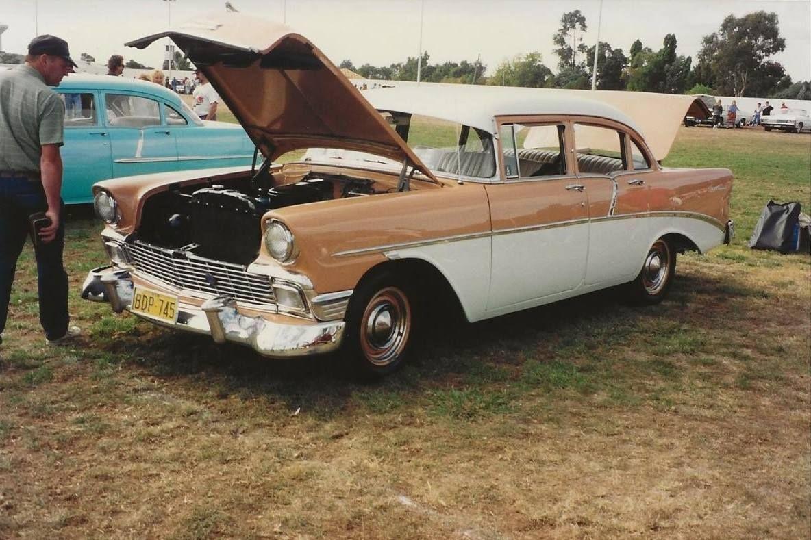 1956 Australian Assembled Chevrolet 235 6 Cylinder Engines In These Sedans 265 V8 In The 4 Door Sports Sedan Sports Sedan Sedan Chevrolet