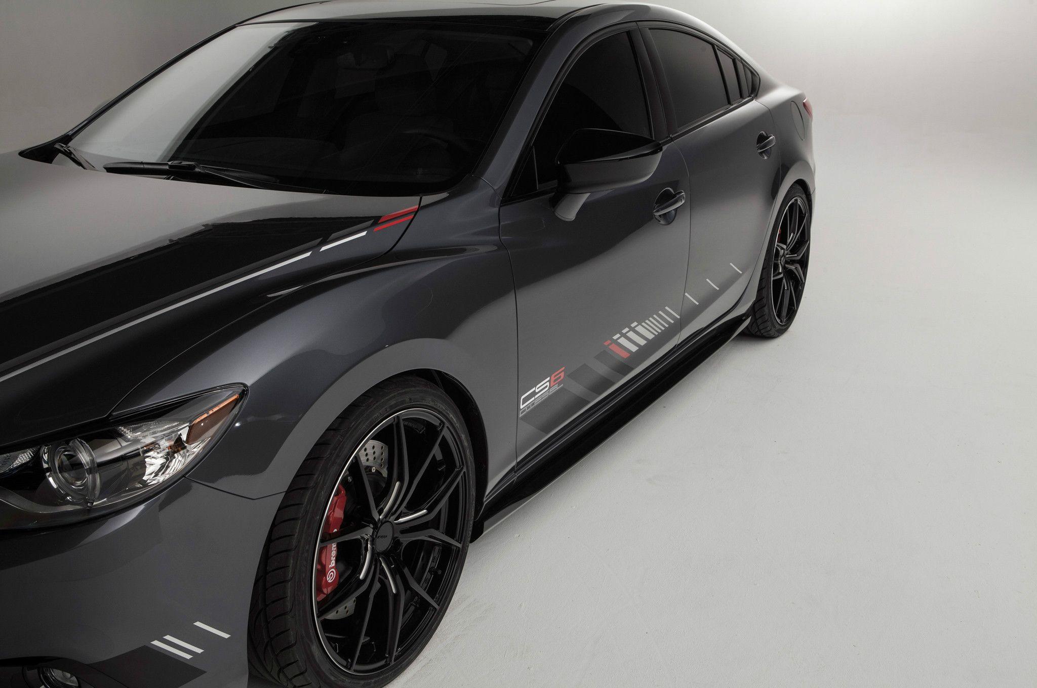 Mazda 6 i sport 2014 mazda6 club sport concept side