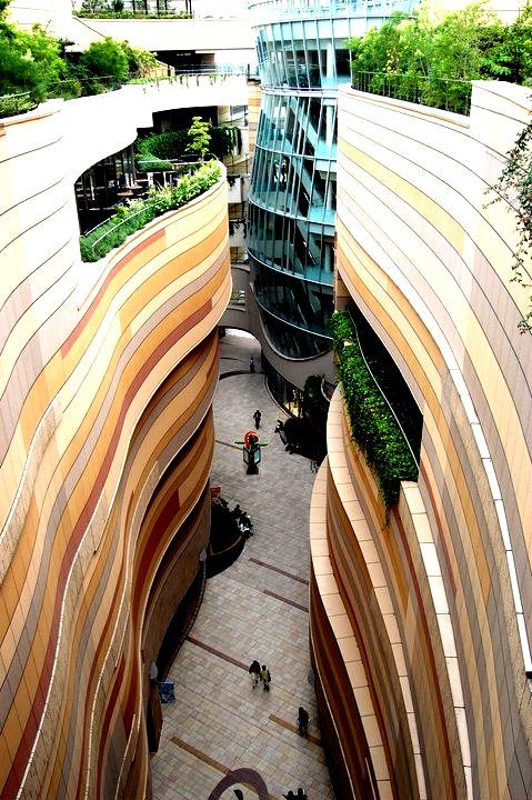I Want To Be Here - Shop Closer To The Nature On The Hanging Gardens Of Namba Park, Osaka, Japan   Cool Places To Drop In