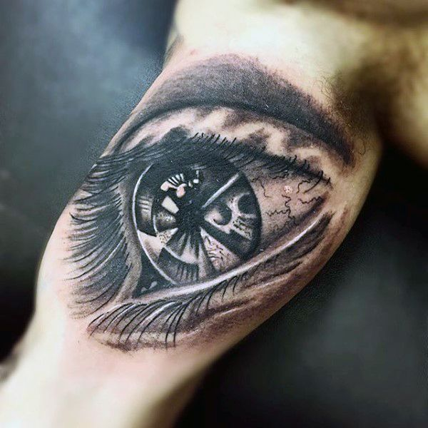 Image result for eye tattoo inner arm tattoos for Eye tattoo images