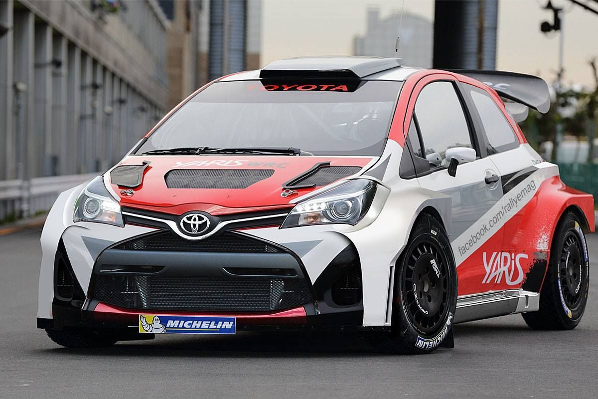 2621f175d9 World Race Car Collection. Toyota Yaris WRC