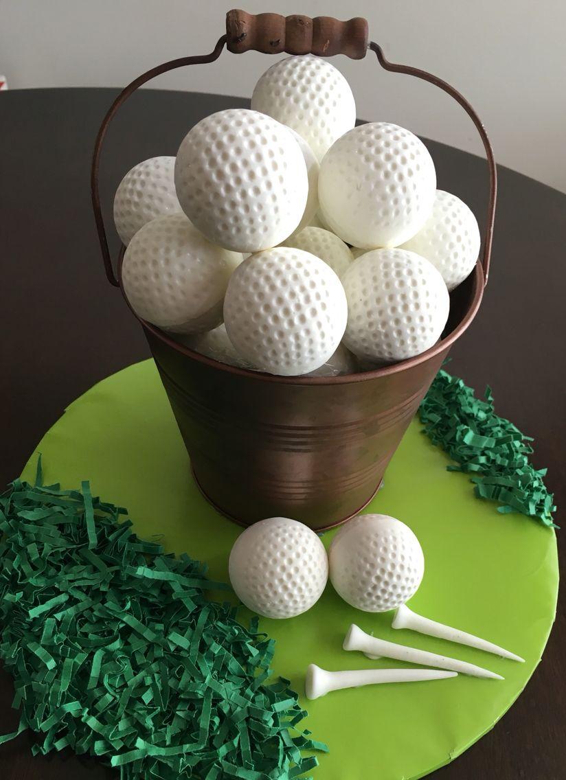 Golf Ball Cake Pops My Cake Pops In 2019 Golf Ball