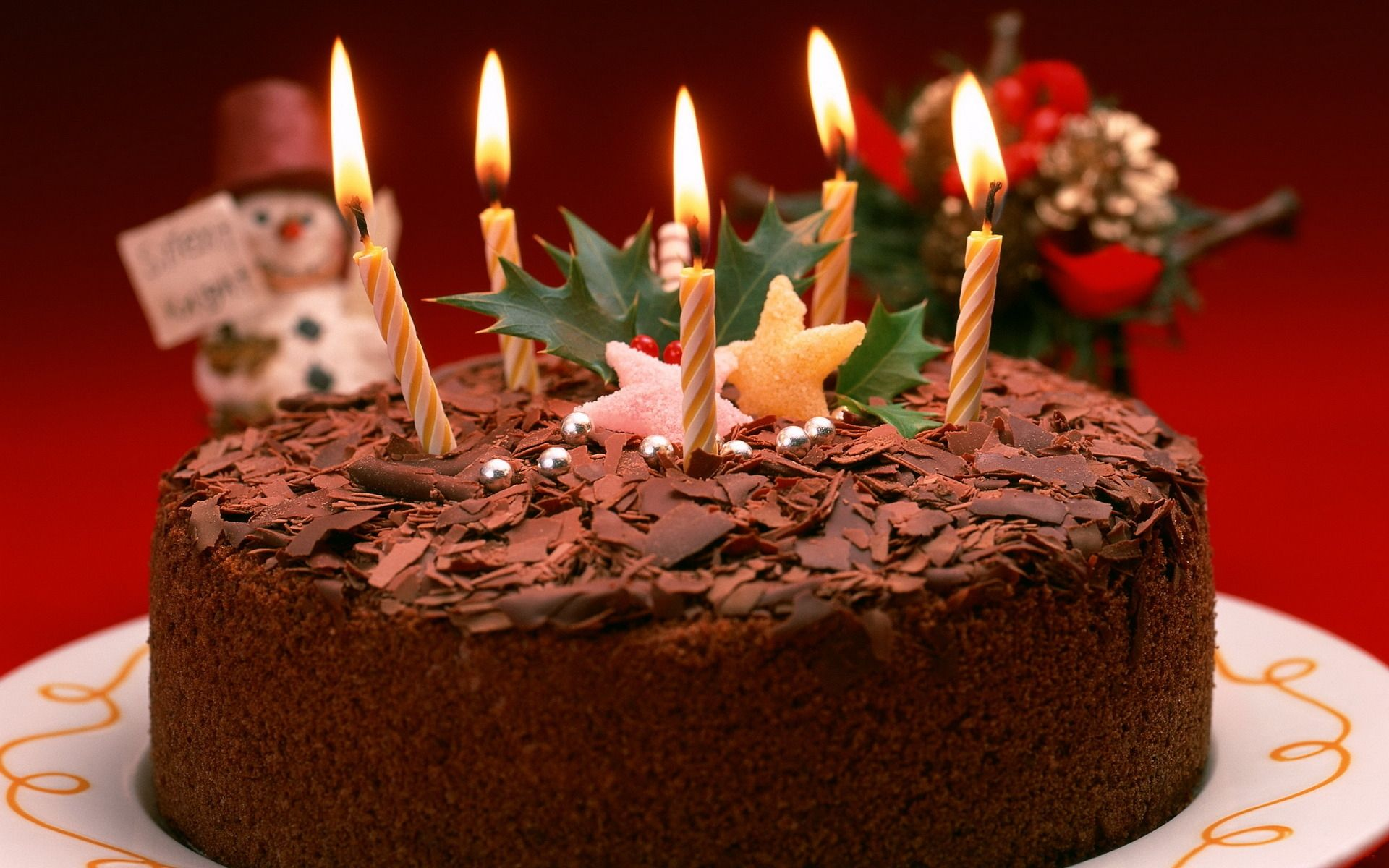 Happy Birthday Cake With Candles Wallpaper Hd Httpimashonw